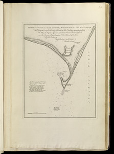A survey of the coast about Cape Lookout in North Carolina, taken the 29th. of June 1756