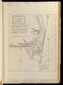A new and exact plan of Cape Fear River, from the bar to Brunswick