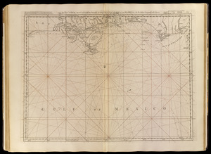 Païs cedés, sheet Ist, containing the coast of Louisiana and Florida