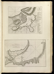 Plan of the city and harbour of the Havana ; Plan of Bahia de Matanzas