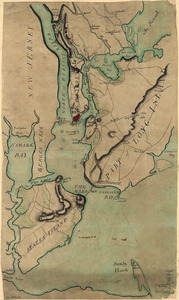 Plan of New York and Staten Islands with part of Long Island