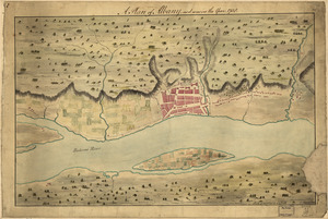 A Plan of Albany, as it was in the year 1758