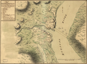A plan of the Forts Montgomery & Clinton