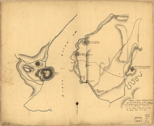 Sketch of Stoney & Verplank's Points upon the North River