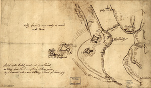 Sketch of the rebel works at West Point