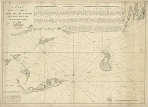 A plan of the east part of Long Island Sound