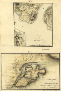 Plan of Perth Amboy from an actual survey. Sketch of Bonham Town