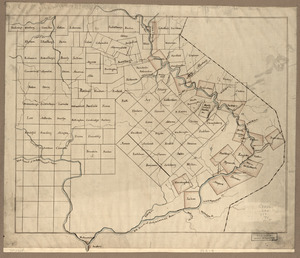 The Part of Pennsylvania that lies between the forks of the Susquehannah, divided into townships