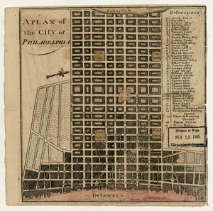 A plan of the city of Philadelphia