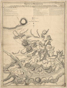 Battle of Brandywine, in which the rebels were defeated