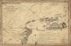 British camp at Trudruffrin from [sic]