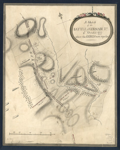 A Sketch of the Battle of German. Tn