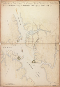 A plan of Portsmouth Harbour in the province of Virginia