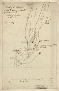 Sketch of the harbour of Charles Town