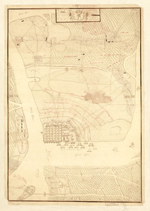 Plan of the siege of Charles Town in South Carolina