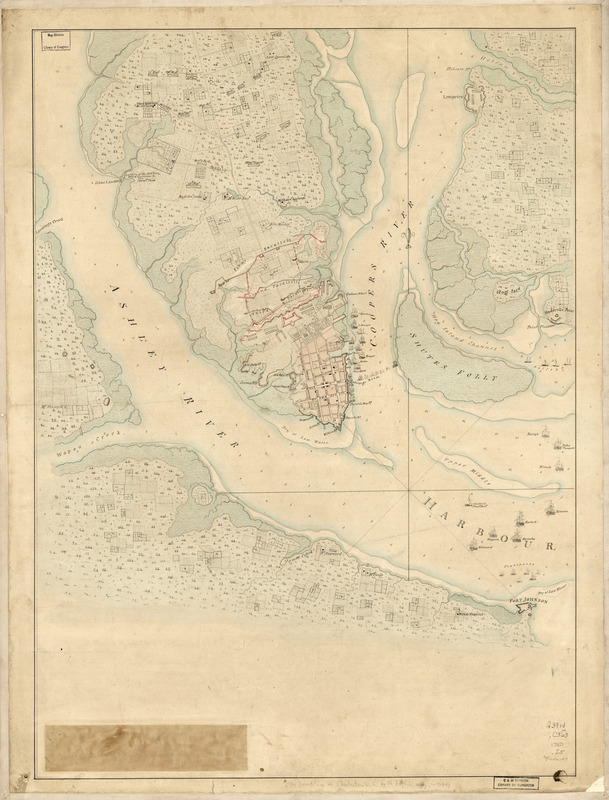 The Investiture of Charleston, S.C. by the English army, in 1780
