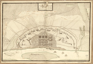Plan of the French and rebells sieg[e] of Savannah in Georgia, in South [sic] America, deffend