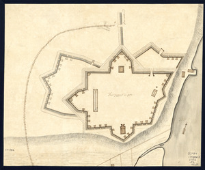 Fort Provost in 1782