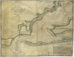 A plan of the harbour of Pensacola in West-Florida