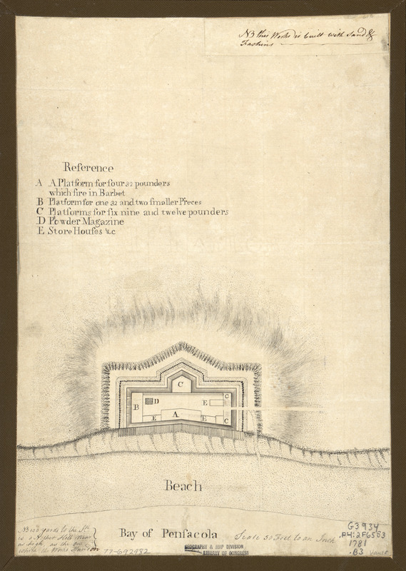 Bay of Pensacola, fortification