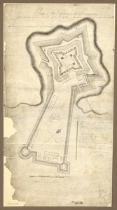 Plan of Fort George at Pensacola