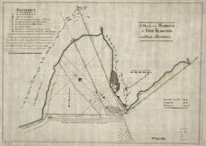 A Sketch of the harbour of Port Francoise on the Island of Hispaniola