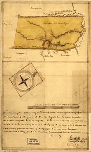 Map of the county of Frederick, 1769