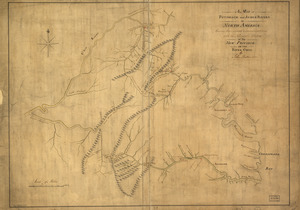 A map of Potomack and James rivers in North America shewing their several communications with the navigable waters of the new province on the river Ohio