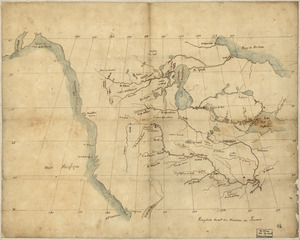 North America from the Mississippi River to the Pacific, between the 35th and 60th parallers of latitude