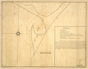 A plan of the harbour of Cape Lookout surveyed and sounded by His Majesty's sloop Viper