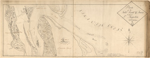 Plan of the inlet, strait, & town of St. Augustine