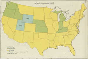 Woman suffrage, 1875