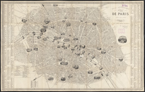 Plan pittoresque de la ville de Paris