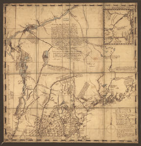 An accurate map of His Majesty's Province of New-Hampshire in New England & all the adjacent country northward to the River St. Lawrence, & eastward to Penobscot Bay