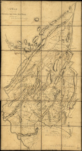 A map containing part of the Provinces of New York and New Jersey