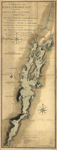 A survey of Lake Champlain including Crown Point and St. Iohn's