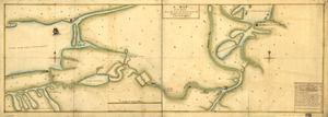 A Map of the route from the city of Albany to the Fort Osswego on the Lake of Cataroque