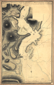 Plan of the attack of Fort Clinton and Montgomery which where [sic] stormed by His Majesty's forces
