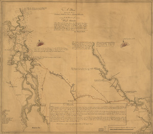 A plan of part of the rivers Tombecbe, Alabama, Tensa, Perdido, & Scambia in the province of West Florida