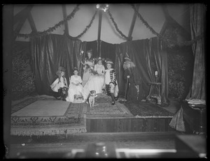 Waban historical collection, glass plate negatives - Theatrical Production -