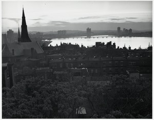 View from Beacon Hill west toward Charles River