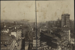 View toward waterfront from Scollay Square