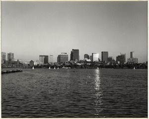 Boston skyline from Charles River basin