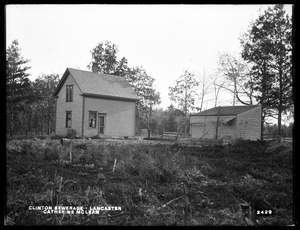 Clinton Sewerage, Catherine McLean's house, on the west side of High Street, corner of Mill Street, from the west and from the north, Lancaster, Mass., Nov. 7, 1898