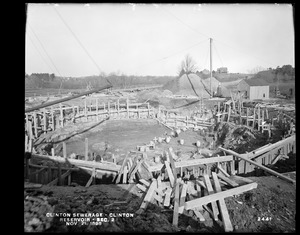 Clinton Sewerage, reservoir, Section 2, Clinton, Mass., Nov. 21, 1898