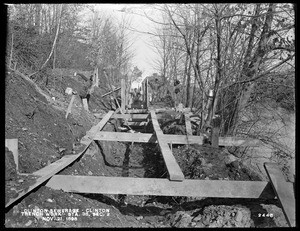 Clinton Sewerage, trench work, Section 2, station 38, Clinton, Mass., Nov. 21, 1898