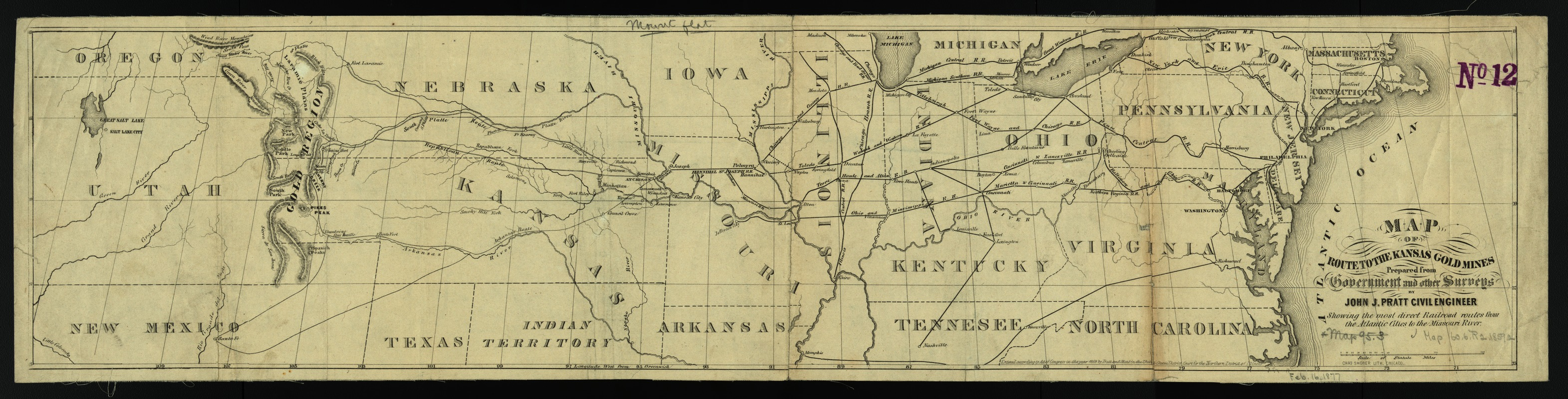 Map of the route to the Kansas gold mines - Norman B ... Gold Map Of Kansas on road map of kansas, antique map of kansas, large map of kansas, physical map of kansas, radon map of kansas, blank map of kansas,
