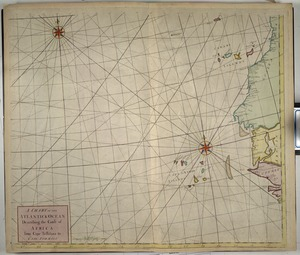 A chart of the Atlantick Ocean describing the Coast of Africa from Cape Teffalana to Cape Formosa