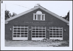 Ponkapoag Fire Station, 3rd on this site
