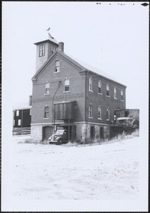 Rear view of Central Fire Station, Canton
